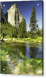 Cathedral Spires-yosemite Series 25 Acrylic Print by David Allen Pierson