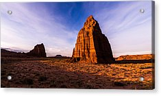 Cathedral Temples Acrylic Print by Chad Dutson