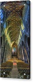 Cathedral Vertorama Acrylic Print by Ian Mitchell