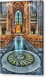 Cathedral Way Acrylic Print by Adrian Evans
