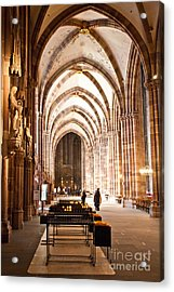 Cathedrale Notre Dame De Strasbourg France Acrylic Print