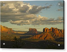 Cathedral's Shadows Acrylic Print by Tom Kelly