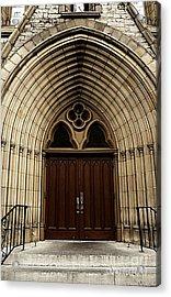 Catherdral Door's Acrylic Print