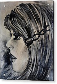Acrylic Print featuring the painting Catherine D. by Sandro Ramani