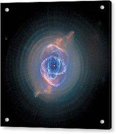 Cats Eye Nebula - Ngc 6543  Acrylic Print by Celestial Images