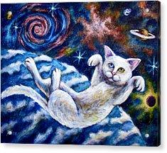 Catstronaught Acrylic Print
