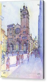 Cattedrale Di S. Lorenzo A Genova Acrylic Print by Luca Massone