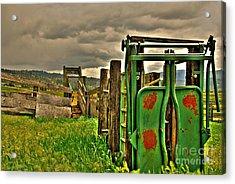 Cattle Chute Acrylic Print