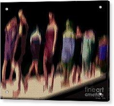 Catwalk Acrylic Print by Pedro L Gili