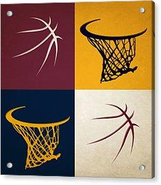 Cavaliers Ball And Hoop Acrylic Print