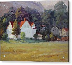 Cavallo Point Acrylic Print by Carol Smith Myer