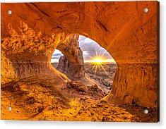 Cave Arch Acrylic Print