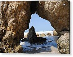 Cave El Matador Beach Acrylic Print
