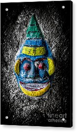 Cave Face 3 Acrylic Print by Adrian Evans