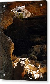 Acrylic Print featuring the photograph Cave Light by Debra Thompson