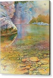 Cave Springs Acrylic Print by Robert Hooper