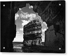 Cave With A View Acrylic Print by Tony Reddington