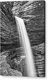 Cavern Cascade Watkins Glen Acrylic Print