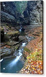 Cavernous Walls Acrylic Print by Frozen in Time Fine Art Photography