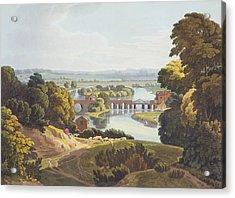 Caversham Bridge, Near Reading Acrylic Print by William Havell
