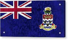 Cayman Islands Flag Acrylic Print