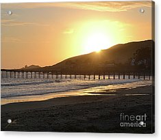 Acrylic Print featuring the photograph Cayucos by Suzette Kallen