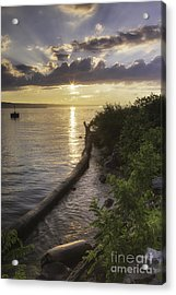 Cayuga Sunset II Acrylic Print