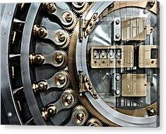 Cbot Vault Door Acrylic Print