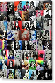 Mosaic - Ccart Mosaic - Series II Acrylic Print