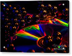 Cd Art 3 Acrylic Print