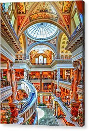 Ceasar's New Palace Acrylic Print by Paul Mashburn