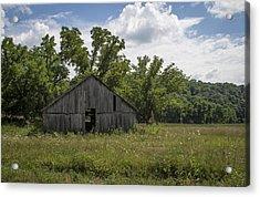 Cedar Creek Barn II Acrylic Print by Wayne Meyer