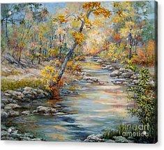 Cedar Creek Trail Acrylic Print