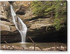 Cedar Falls 4 Acrylic Print by Ginger Harris