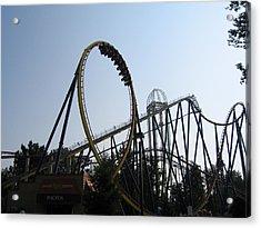 Cedar Point - Mantis - 12123 Acrylic Print by DC Photographer