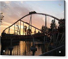 Cedar Point - Maverick - 12121 Acrylic Print
