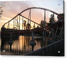 Cedar Point - Maverick - 12122 Acrylic Print