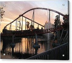 Cedar Point - Maverick - 12123 Acrylic Print
