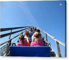 Cedar Point - Mean Streak - 12122 Acrylic Print