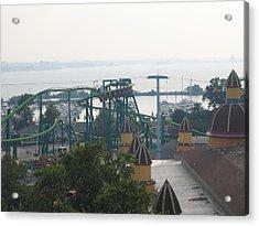 Cedar Point - Raptor - 121211 Acrylic Print