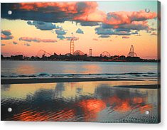 Cedar Point Acrylic Print by Sarah Kasper