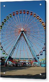 Cedar Point Sunday Acrylic Print by Frozen in Time Fine Art Photography