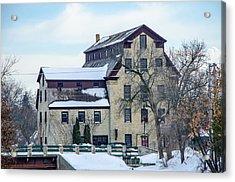 Cedarburg Mill Acrylic Print