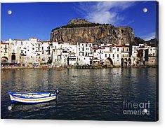 Cefalu - Sicily Acrylic Print by Stefano Senise