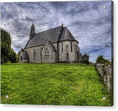 Cefn Meiriadog Parish Church Acrylic Print by Ian Mitchell