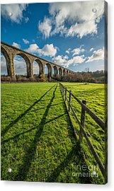 Cefn Viaduct Chirk Acrylic Print