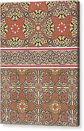 Ceiling Arabesques From The Mosque Of El-bordeyny Acrylic Print