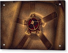 Ceiling Fan Reflected In Ipad Acrylic Print
