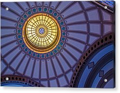 Acrylic Print featuring the photograph Ceiling In The Chattanooga Choo Choo Train Depot by Susan  McMenamin