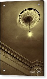 Acrylic Print featuring the photograph Ceiling Light by Craig B